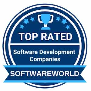 SoftwareWorld top rated software development companies award